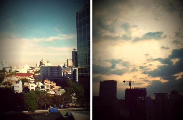Saigon day and night