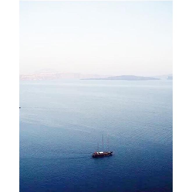 Santorini sea