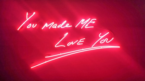 Tracey Emin You Made Me Love You, Art Hong Kong, by Xing Zhao