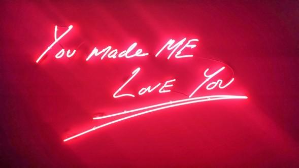 Tracey Emin You Made Me Love You, Art Hong Kong, by Xing Zhao