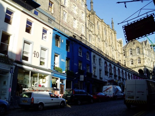 Cockburn Street Edinburgh by KapaZhao