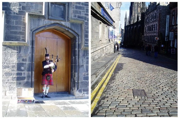 Bagpiper in Edinburgh by KapaZhao